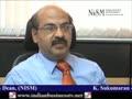 K. Sukumaran, Dean, NISM, Part 1 C84