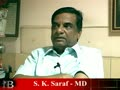 S K Saraf, MD, Acknit Ind. Ltd, Kolkata, BSE Code: 530043, Video Part 1