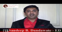 Interview of  Sandeep B. Dandawate - ED, Dhruv Consultancy Services Ltd.