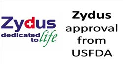 Zydus approval from USFDA