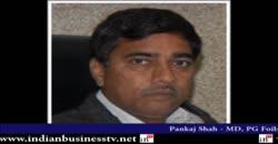 Pankaj Shah - MD, PG Foils Ltd