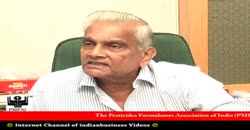 Pesticides Manufacturers Association Of India, Pradeep Dave, President, Part 3 ( 2010 )