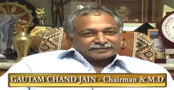 Pokarna Ltd., Gautam Chand Jain,CMD, Part 3 ( 2010 )