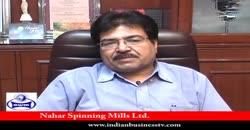 Nahar Spg. Mills Ltd., Hans Raj Kapoor, G.M, Part 1 ( 2010 )