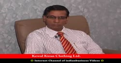Kewal Kiran Clothing Ltd. S L Kothari, CFO, Part 1 ( 2010 )