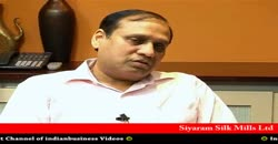 Siyaram Silk Mills Ltd, Ramesh D Poddar, Vice Chairman & MD, Part 1 ( 2010 )