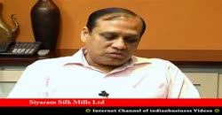 Siyaram Silk Mills Ltd, Ramesh D Poddar, Vice Chairman & MD, Part 2 ( 2010 )