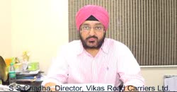 S S Chadha, Director, Vikas Road Carriers Ltd. shares Business Model & Growth Strategy