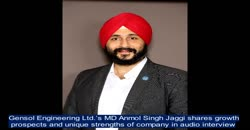 Gensol Engineering Ltd.'s MD Anmol Singh Jaggi shares growth prospects & USP's  in audio interview